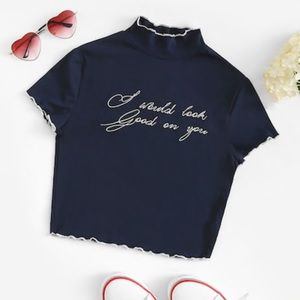 "Tops - Crop top  NEW 💋 ""I would look good on you"" 😉"